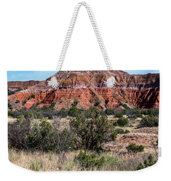 Contemplation Bench Weekender Tote Bag