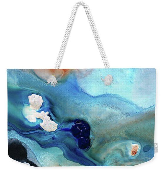 Contemporary Abstract Art - The Flood - Sharon Cummings Weekender Tote Bag
