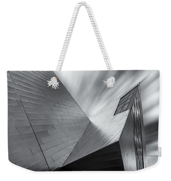 Contemporary Architecture Of The Shops At Crystals, Aria, Las Ve Weekender Tote Bag