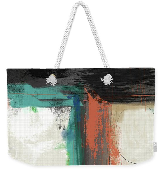Contemporary Cross 2- Art By Linda Woods Weekender Tote Bag