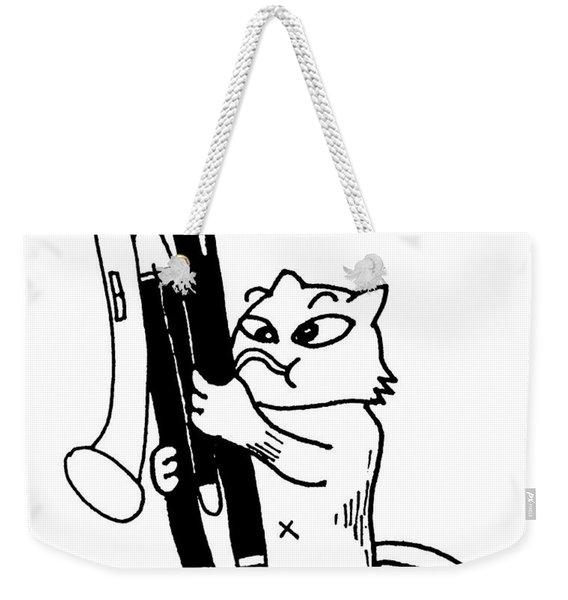 Contra Bassoon Fox Weekender Tote Bag