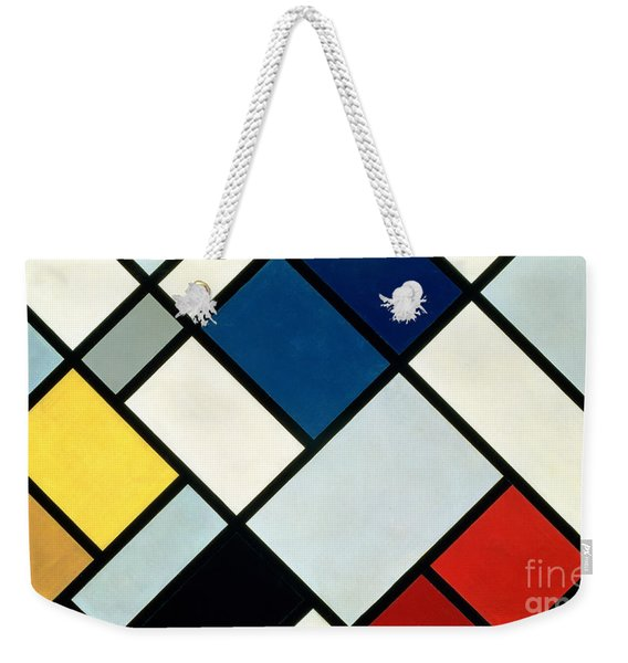 Contracomposition Of Dissonances Weekender Tote Bag