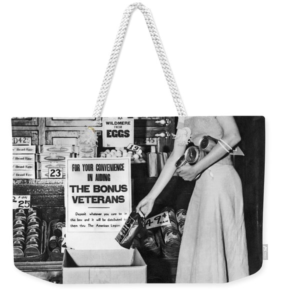 Contributions For Bonus Army Weekender Tote Bag