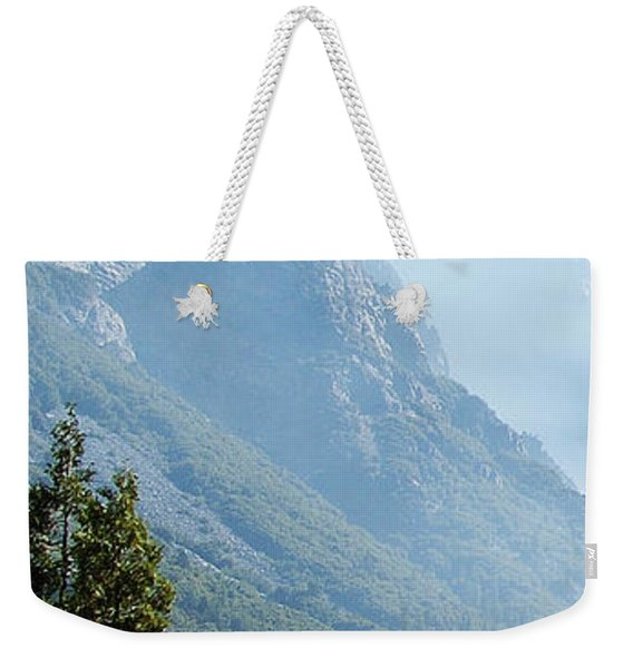 1 Of 4 Controlled Burn Of Yosemite Section Weekender Tote Bag