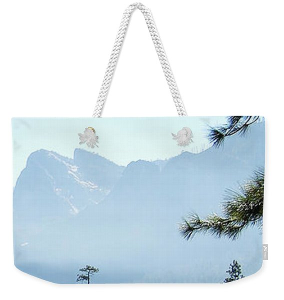 3 Of 4 Controlled Burn Of Yosemite Section Weekender Tote Bag