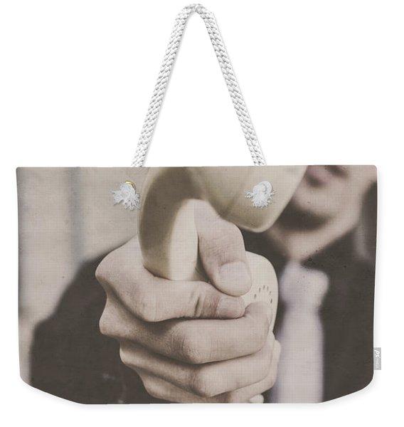 Conversations Of The Speakeasy Weekender Tote Bag