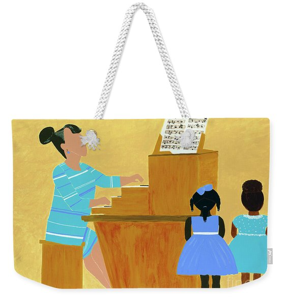 Convocation Weekender Tote Bag