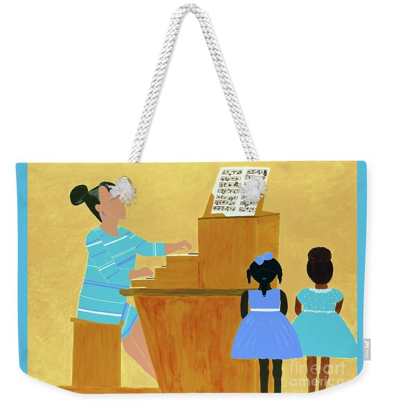 Convocation Weekender Tote Bag