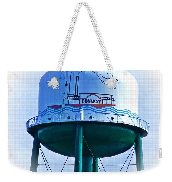 Conway Water Tower Top Weekender Tote Bag