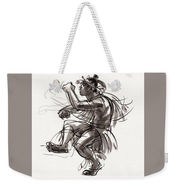 Cook Islands Male Dancer Weekender Tote Bag
