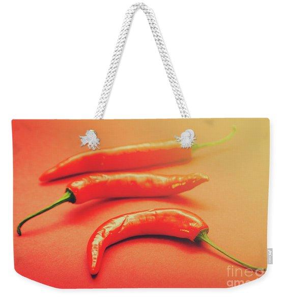 Cooking Pepper Ingredient Weekender Tote Bag