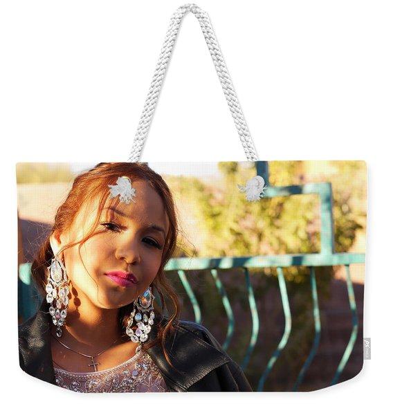 Cool Autum Weekender Tote Bag