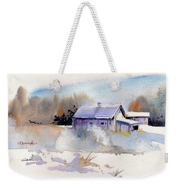 Cool Country Barn Weekender Tote Bag