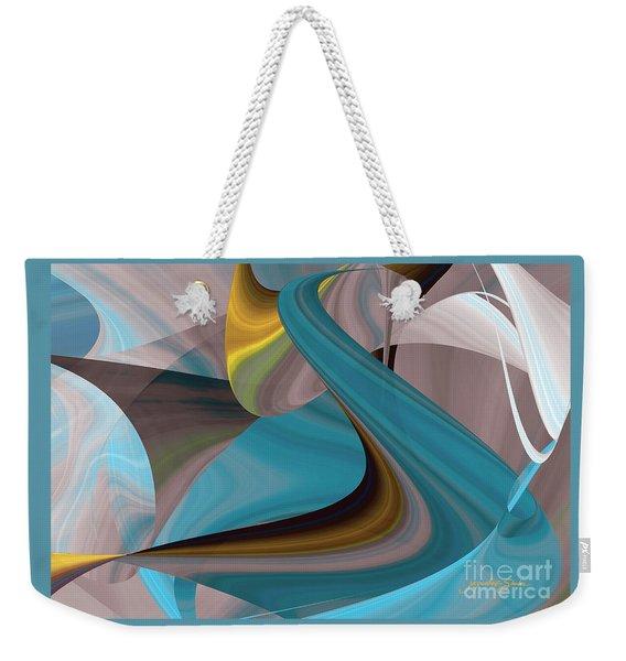 Cool Curvelicious Weekender Tote Bag