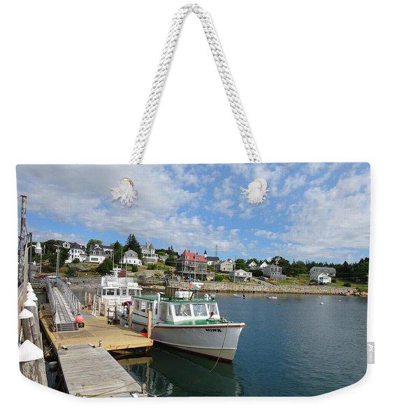 Cool Harbor Weekender Tote Bag