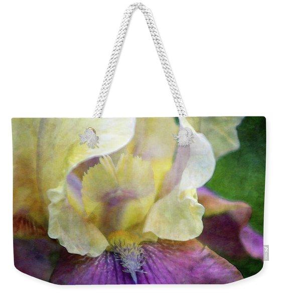 Cool Toned Purple Iris 0319 Idp_3 Weekender Tote Bag