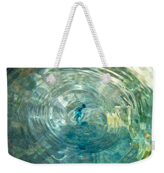 Cool Water Weekender Tote Bag