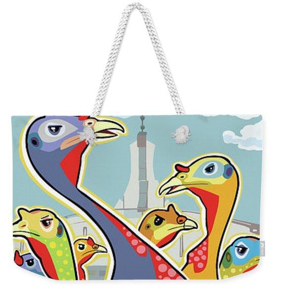 Coolidge Corner Critics Weekender Tote Bag