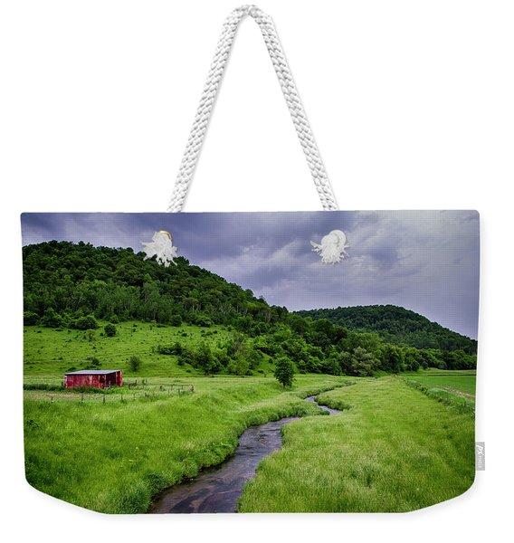 Coon Valley Weekender Tote Bag