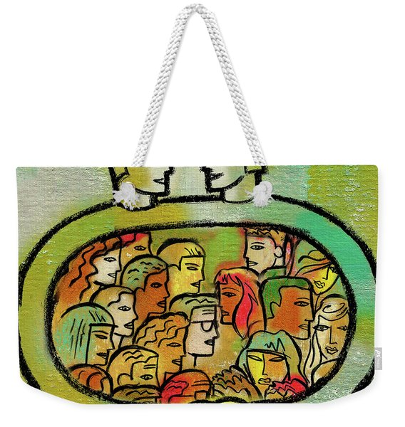 Cooperation And Support Weekender Tote Bag