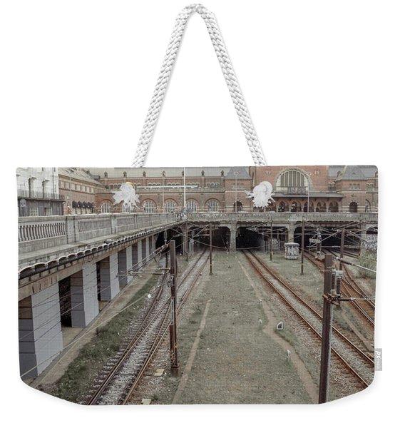 Copenhagen Central Station Weekender Tote Bag
