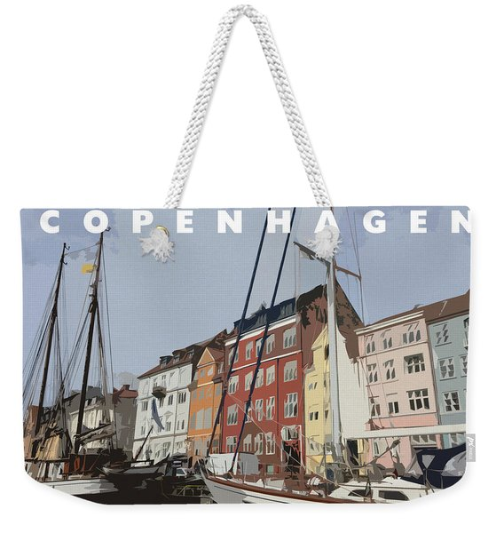 Copenhagen Memories Weekender Tote Bag