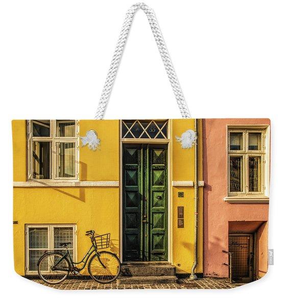 Copenhagen Transportation Weekender Tote Bag