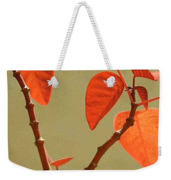 Copper Plant Weekender Tote Bag
