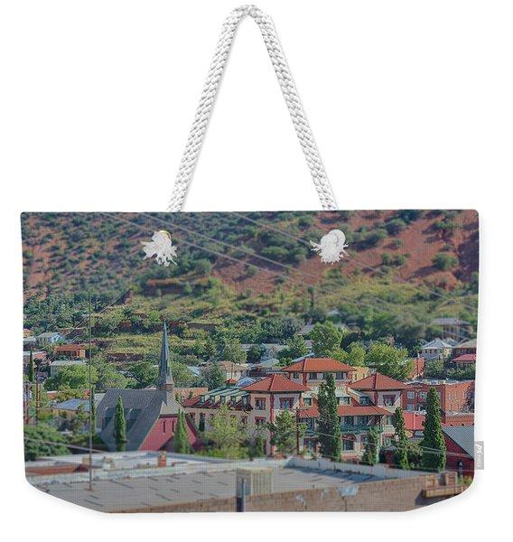 Copper Queen Hotel Weekender Tote Bag
