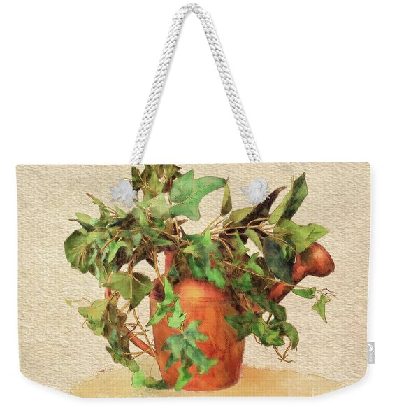 Copper Watering Can Weekender Tote Bag