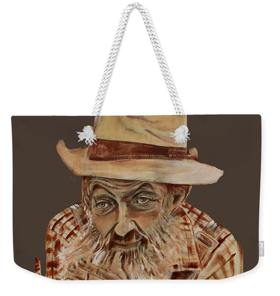 Coppershine Popcorn Bust - T-shirt Transparency Weekender Tote Bag