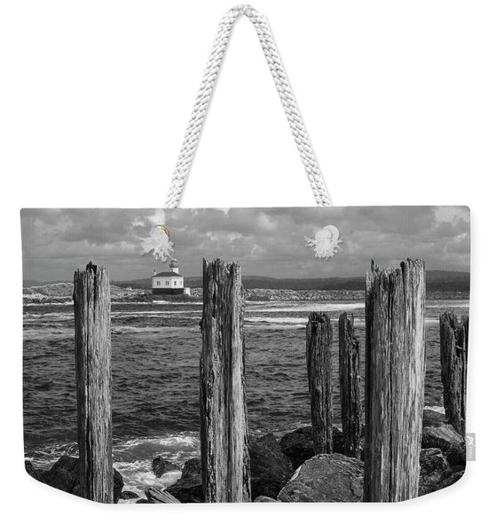 Coquille Lighthouse Weekender Tote Bag