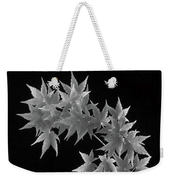 Coral Bark Maple Weekender Tote Bag