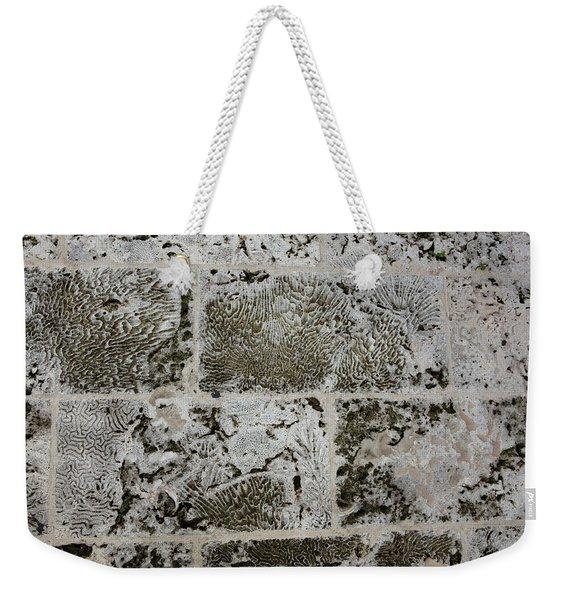 Coral Wall 205 Weekender Tote Bag