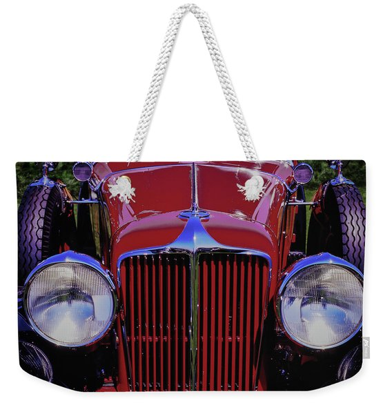 Cord Coupe Weekender Tote Bag