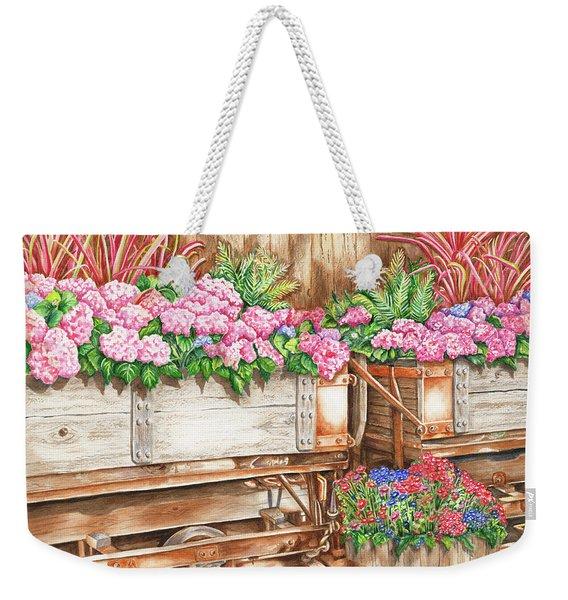 Cordelia's Train Weekender Tote Bag
