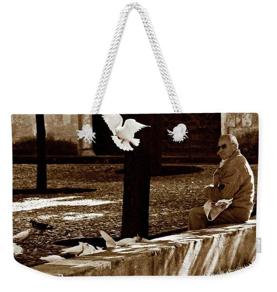 Weekender Tote Bag featuring the photograph Cordoba Flight by Lorraine Devon Wilke