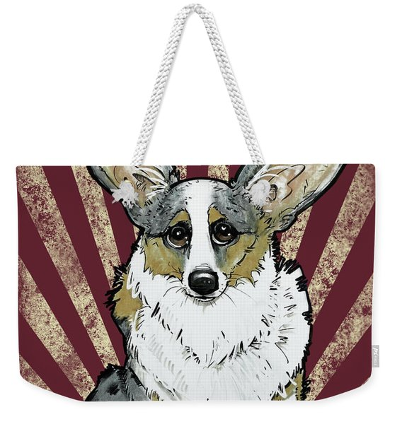 Corgi Revolution Weekender Tote Bag