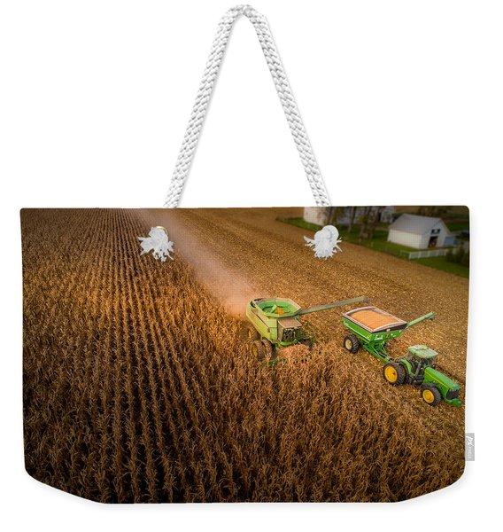 Corn Dust Weekender Tote Bag