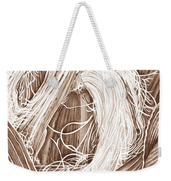 Corn Silk - Neutral Weekender Tote Bag