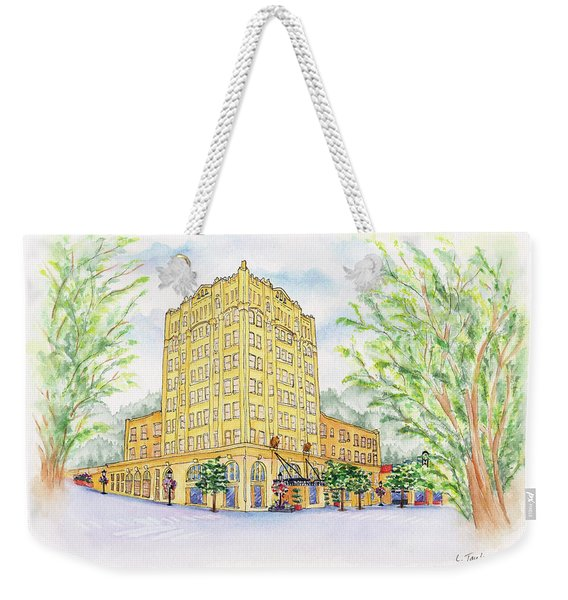 Corner Grandeur Weekender Tote Bag