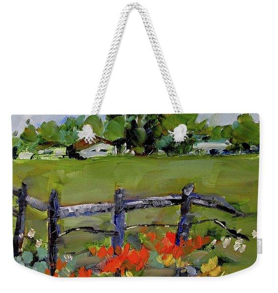 Corner Lot, Texas Style  Weekender Tote Bag