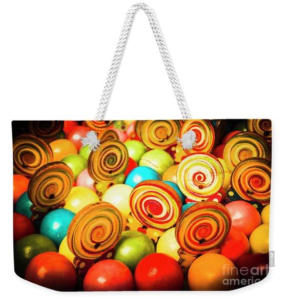 Corner Store Candies  Weekender Tote Bag