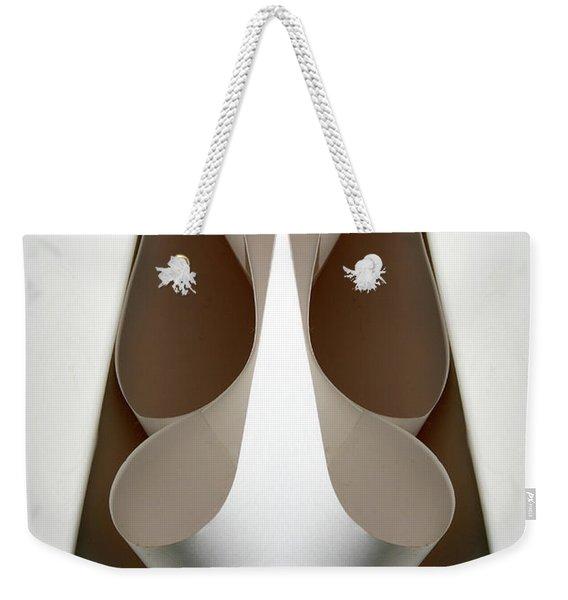 Cornered Curves Weekender Tote Bag
