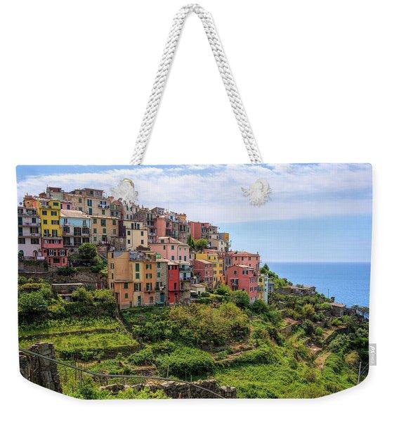 Corniglia Cinque Terre Italy Weekender Tote Bag