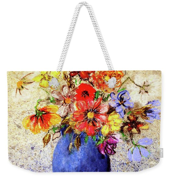 Cornucopia-still Life Painting By V.kelly Weekender Tote Bag