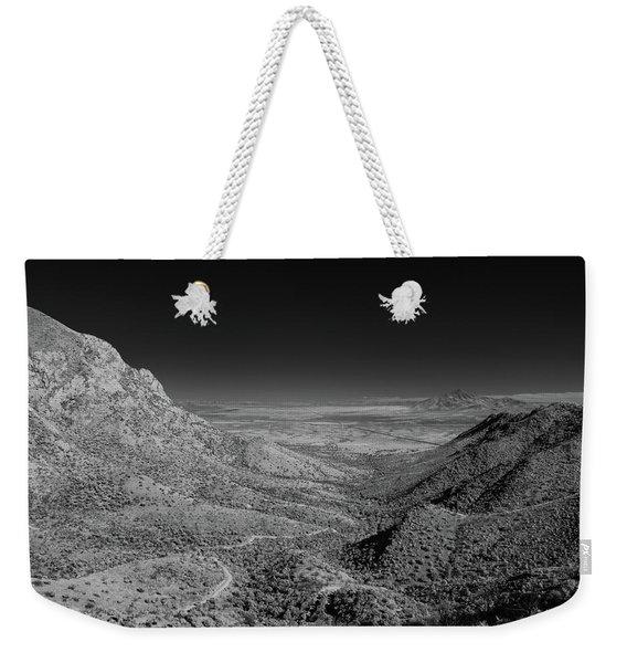 Coronado National Memorial In Infrared Weekender Tote Bag