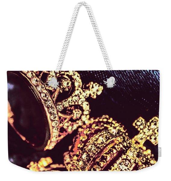Coronation Of Jewels Weekender Tote Bag