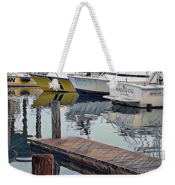 Corpus Christi Dock Weekender Tote Bag