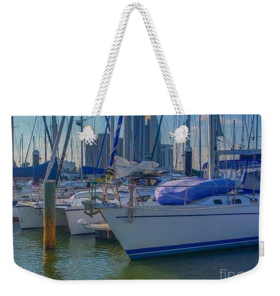 Corpus Christi Marina Weekender Tote Bag